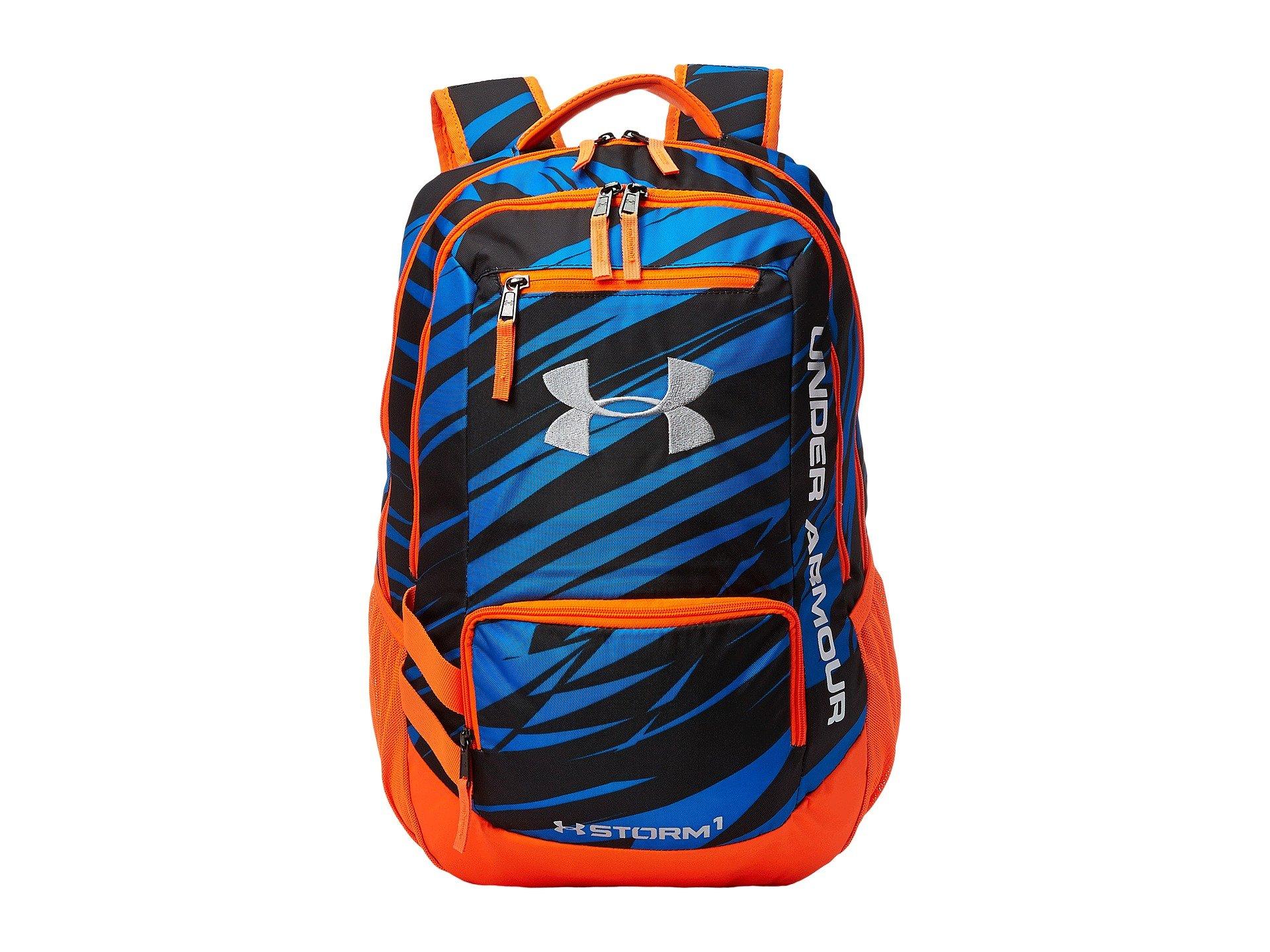 84b306ee38c Under Armour Scrimmage Laptop Mesh Backpack Blue Orange- Fenix ...