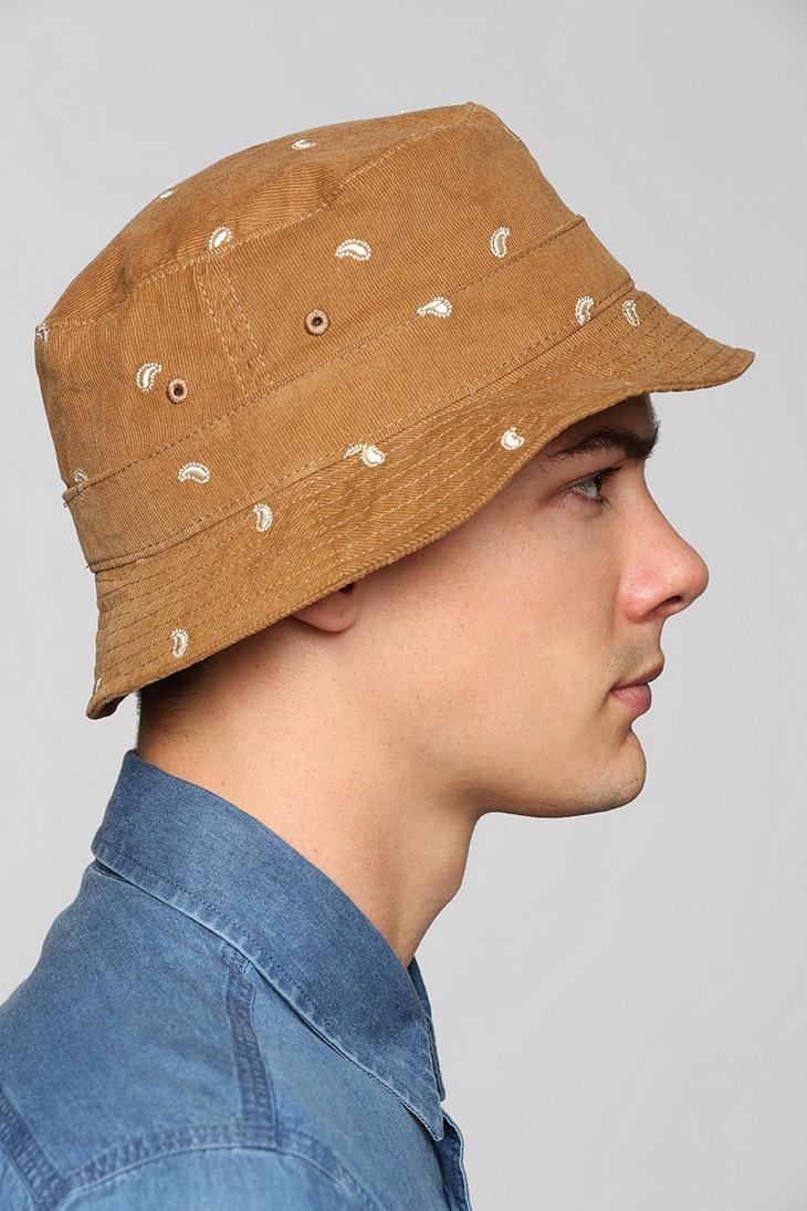 Lyst - Obey Obey Dynasty Bucket Hat in Brown for Men 841f20c74fc