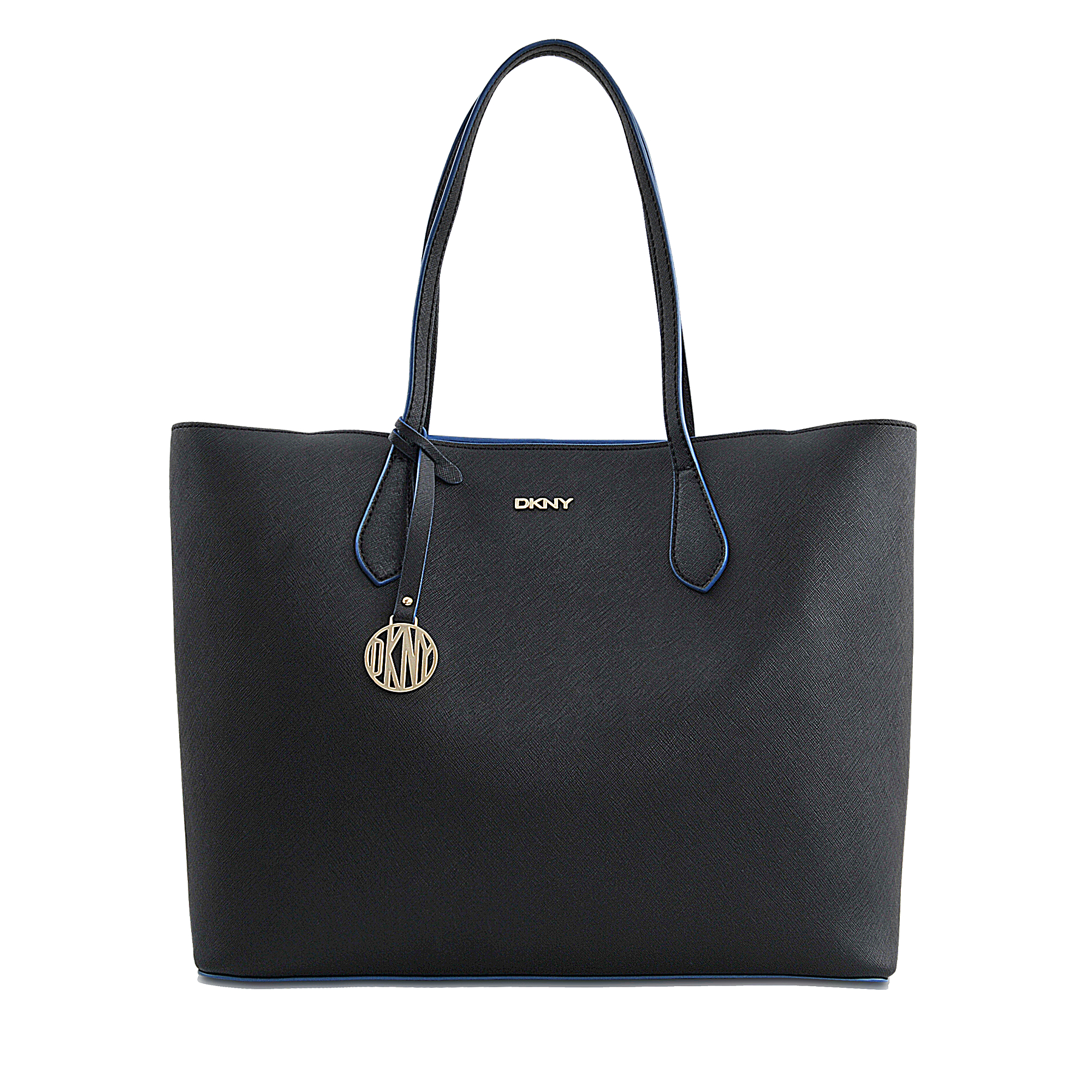 dkny ew shopper bryant park tote in black lyst. Black Bedroom Furniture Sets. Home Design Ideas