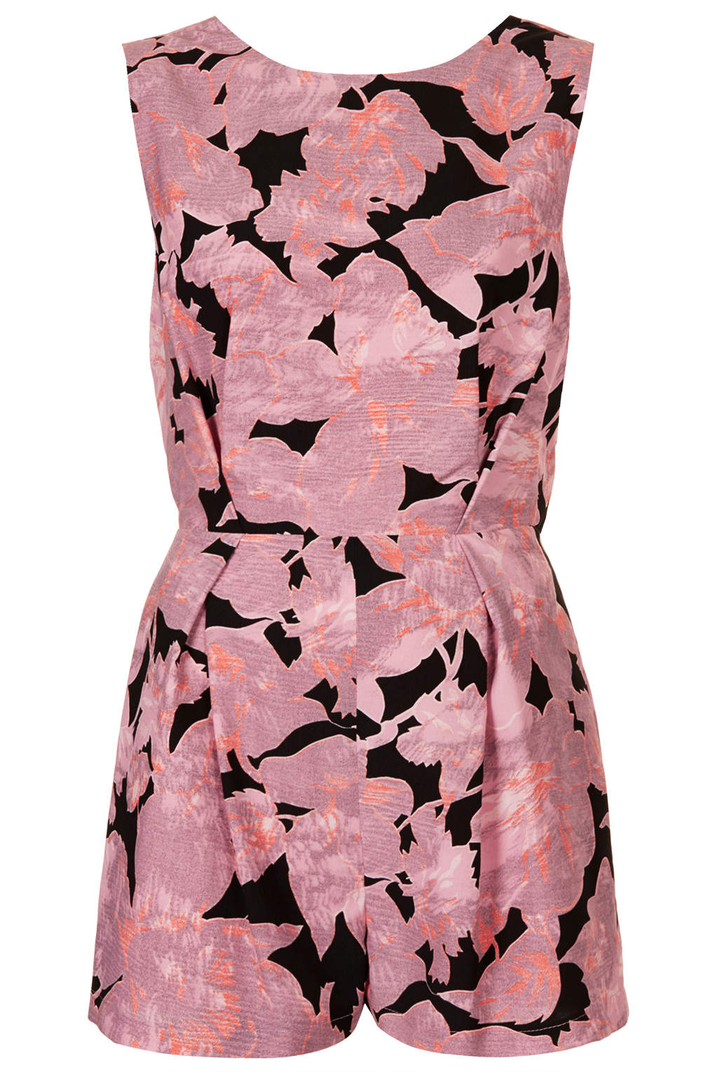 d9cf8a8821 Lyst - TOPSHOP Chateau Femme Playsuit in Pink