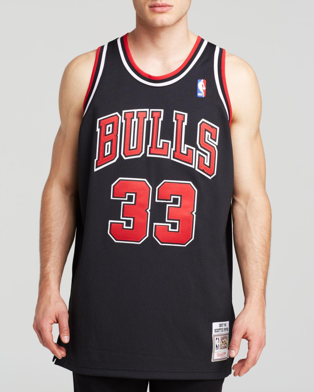 premium selection 4068a 46b93 Women's Black 1997-98 Chicago Bulls Scottie Pippen Jersey