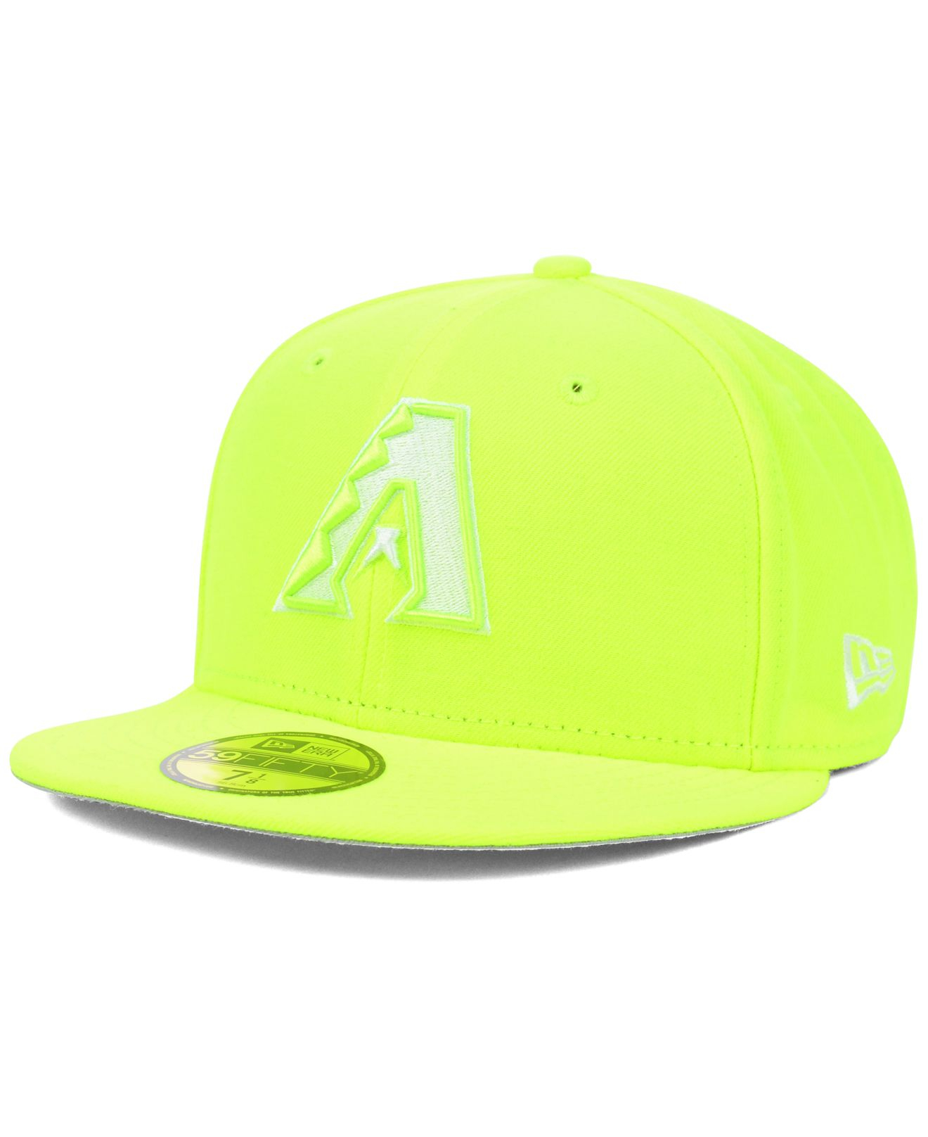 139633850bc ... cheapest lyst ktz arizona diamondbacks mlb c dub 59fifty cap in yellow  for men 24c93 13c7b