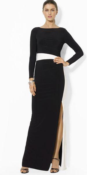 Ralph Lauren Evening Dress White Plus Size Prom Dresses