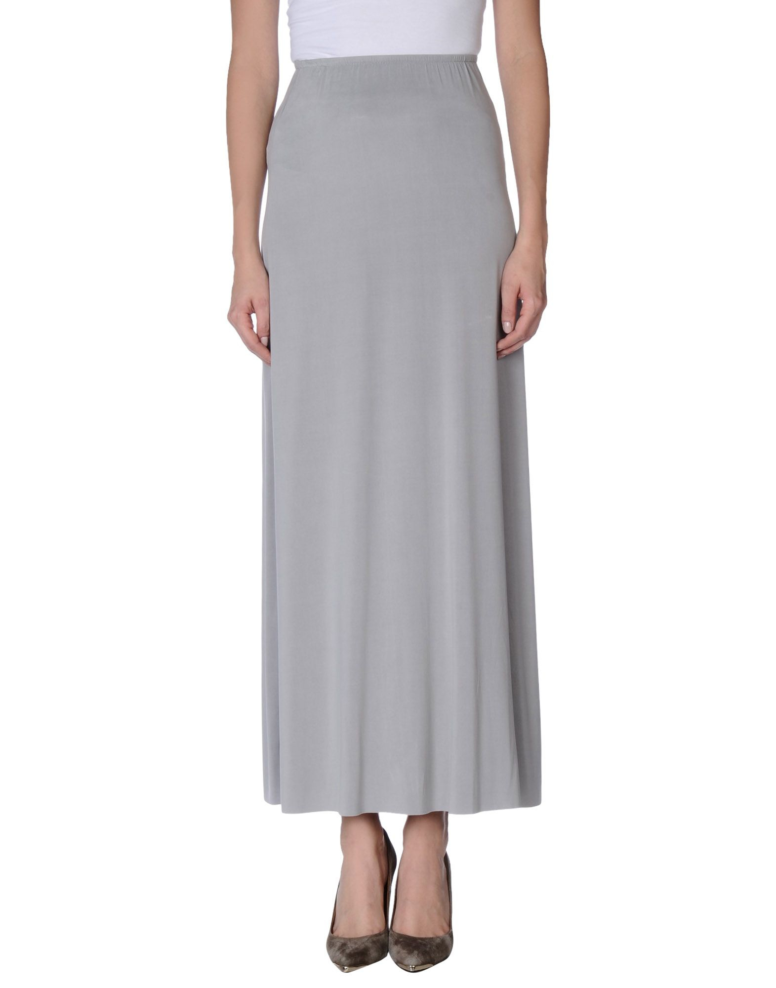 American vintage Long Skirt in Gray (Light grey)