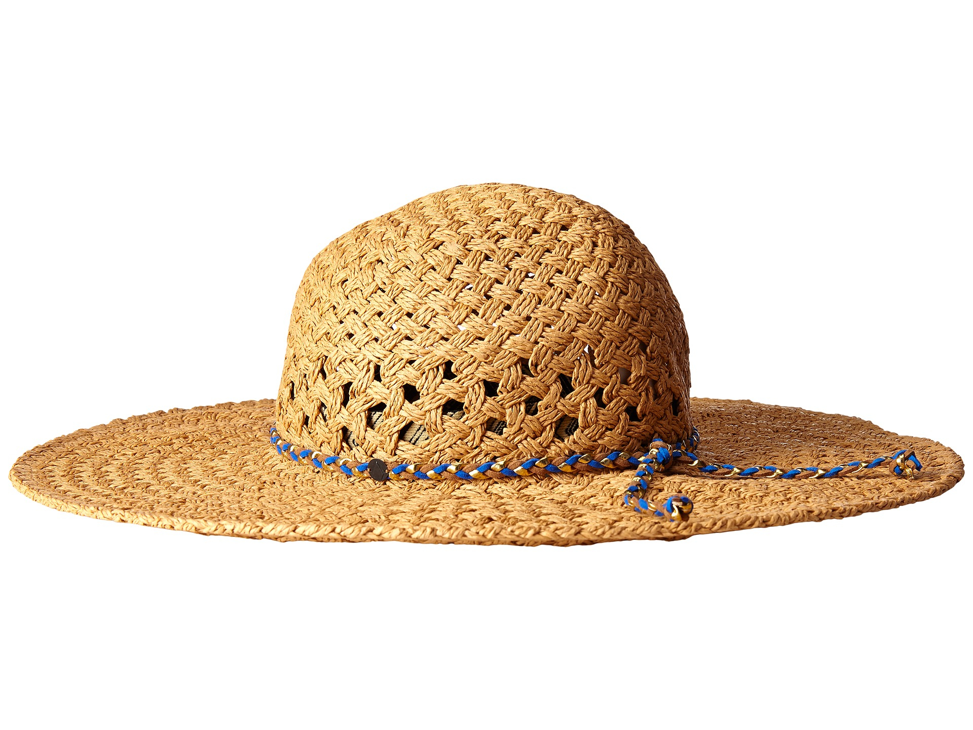 f977103bc74 ... inexpensive lyst volcom get away floppy hat in brown 4a050 473cd ...