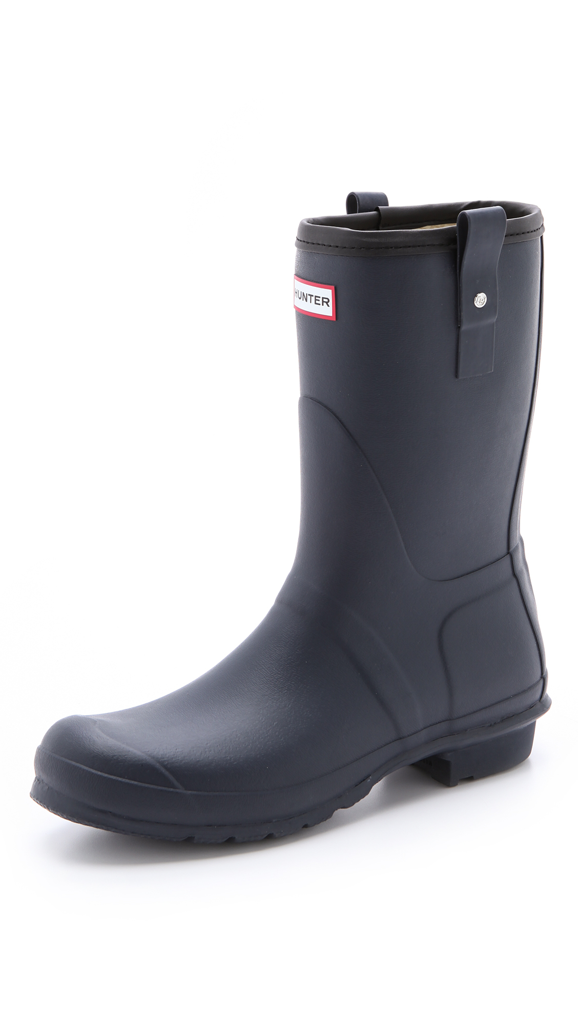 Lyst Hunter Original Short Rain Boots In Blue For Men