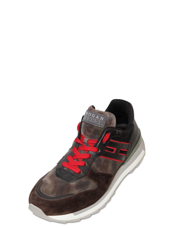 Sneaker H321 camouflage Hogan P0OPec