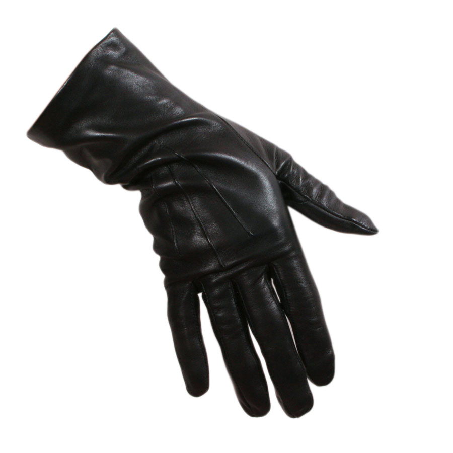 Ladies leather gloves with silk lining - Gallery