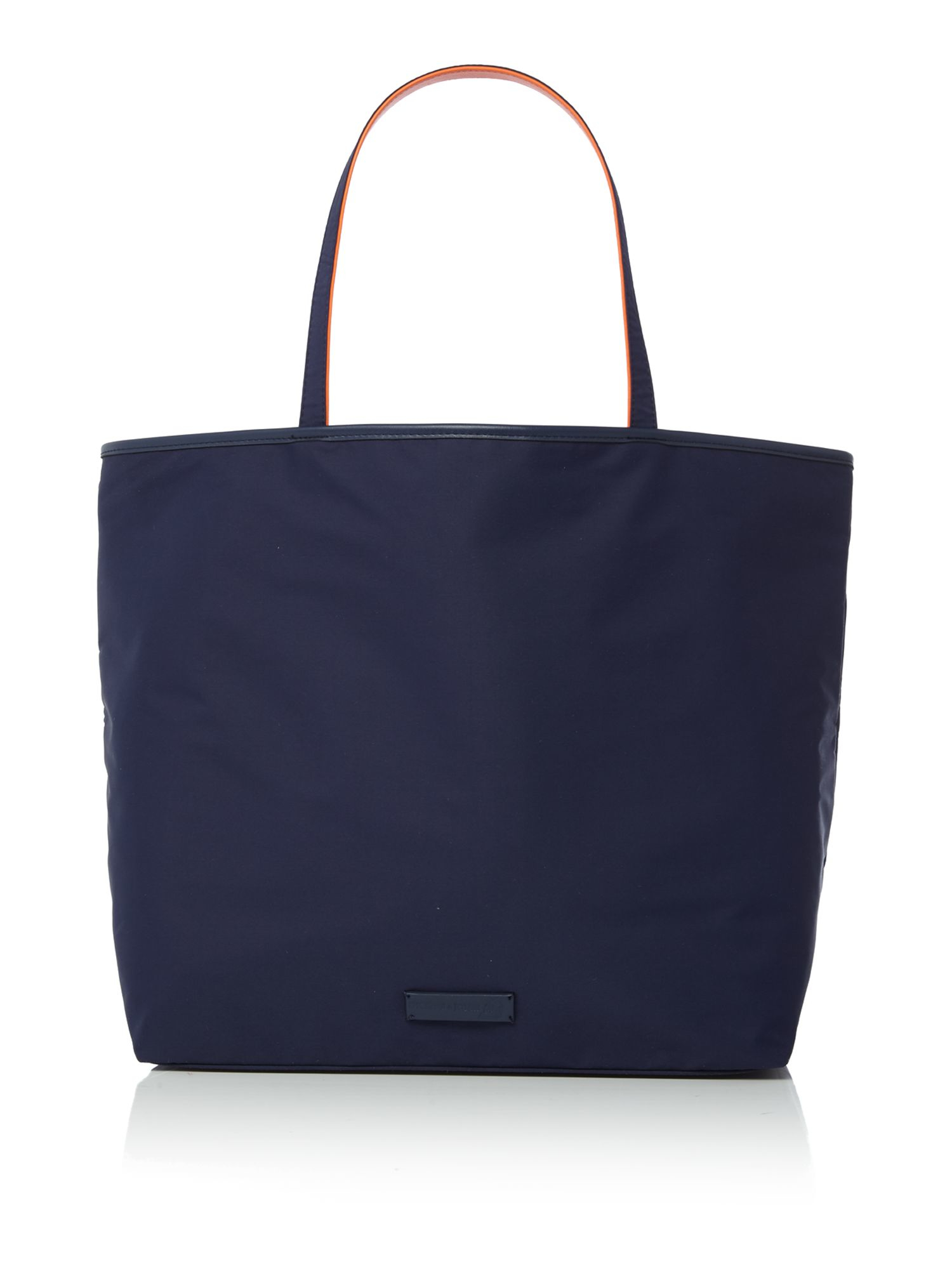 Dickins & Jones Large Zip Top Nylon Tote Bag in Navy (Blue)