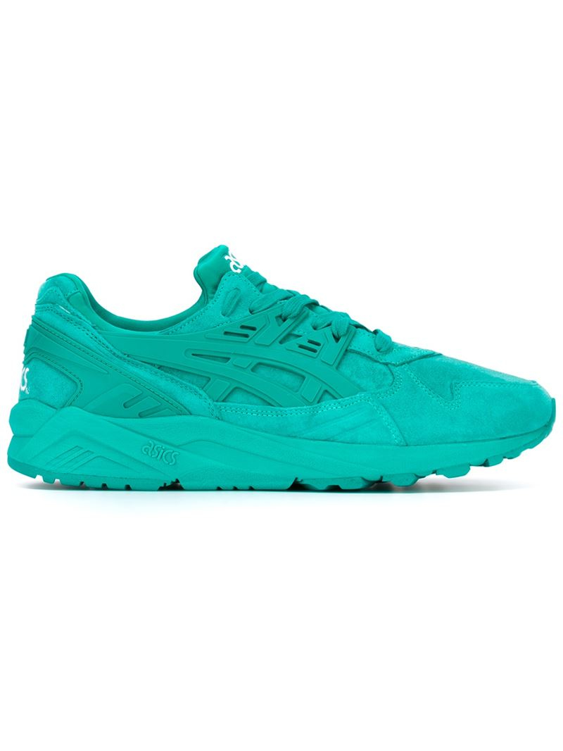 asics 39 gel kayano 39 sneakers in green for men lyst. Black Bedroom Furniture Sets. Home Design Ideas