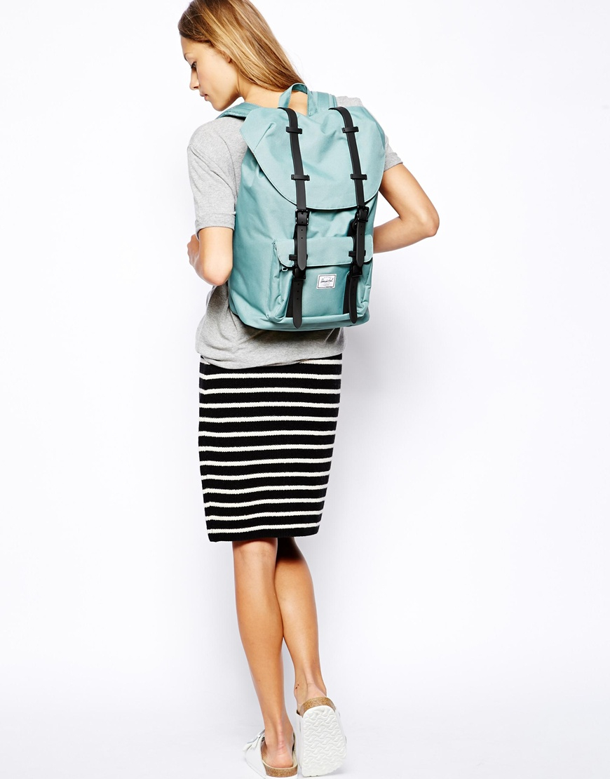 100% genuine cheapest price big sale Little America Mid Backpack in Seafoam Green