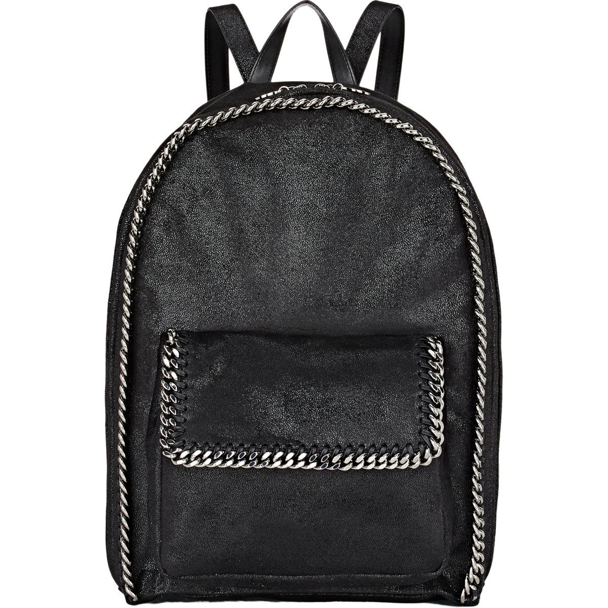 stella mccartney shaggy deer rucksack backpack in black lyst. Black Bedroom Furniture Sets. Home Design Ideas