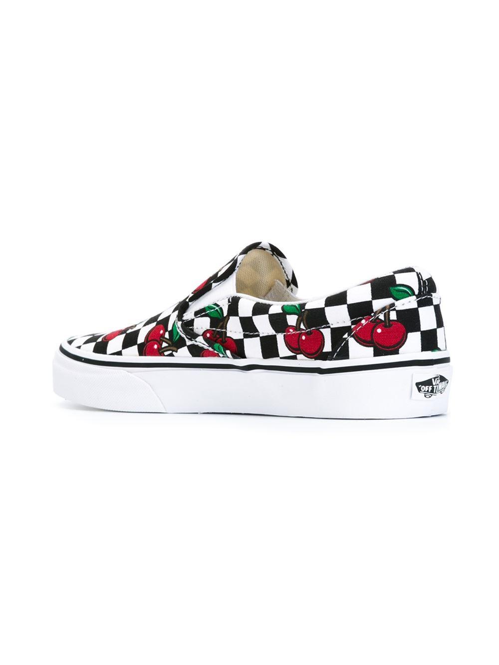 Cherry Print Shoes Uk