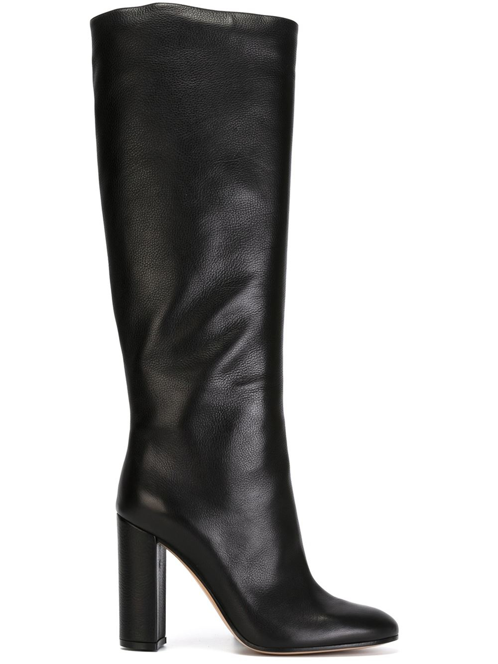 gianvito rossi 39 rolling 39 boots in black lyst. Black Bedroom Furniture Sets. Home Design Ideas