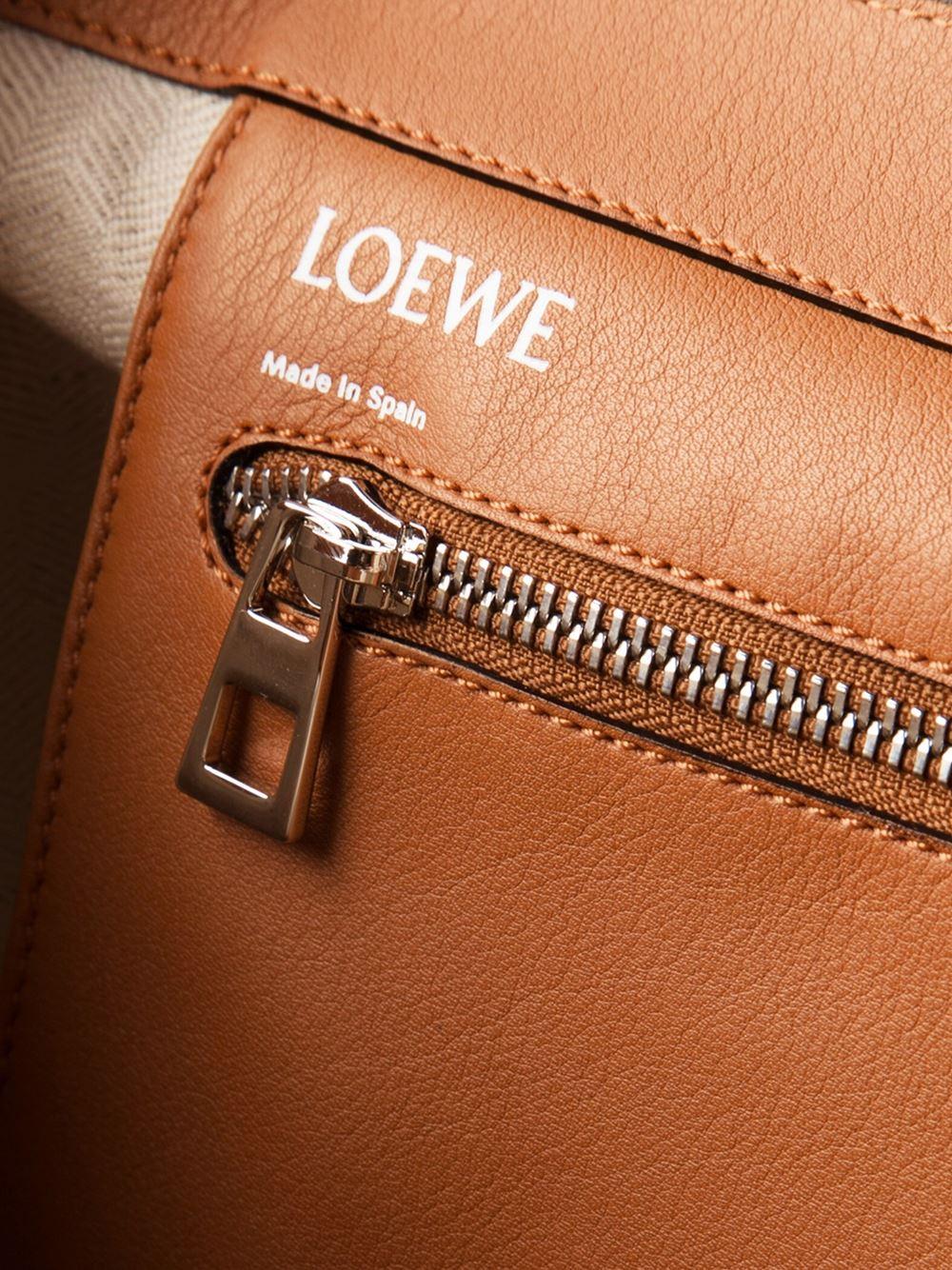 Loewe 'East West Shopper' Tote in Brown