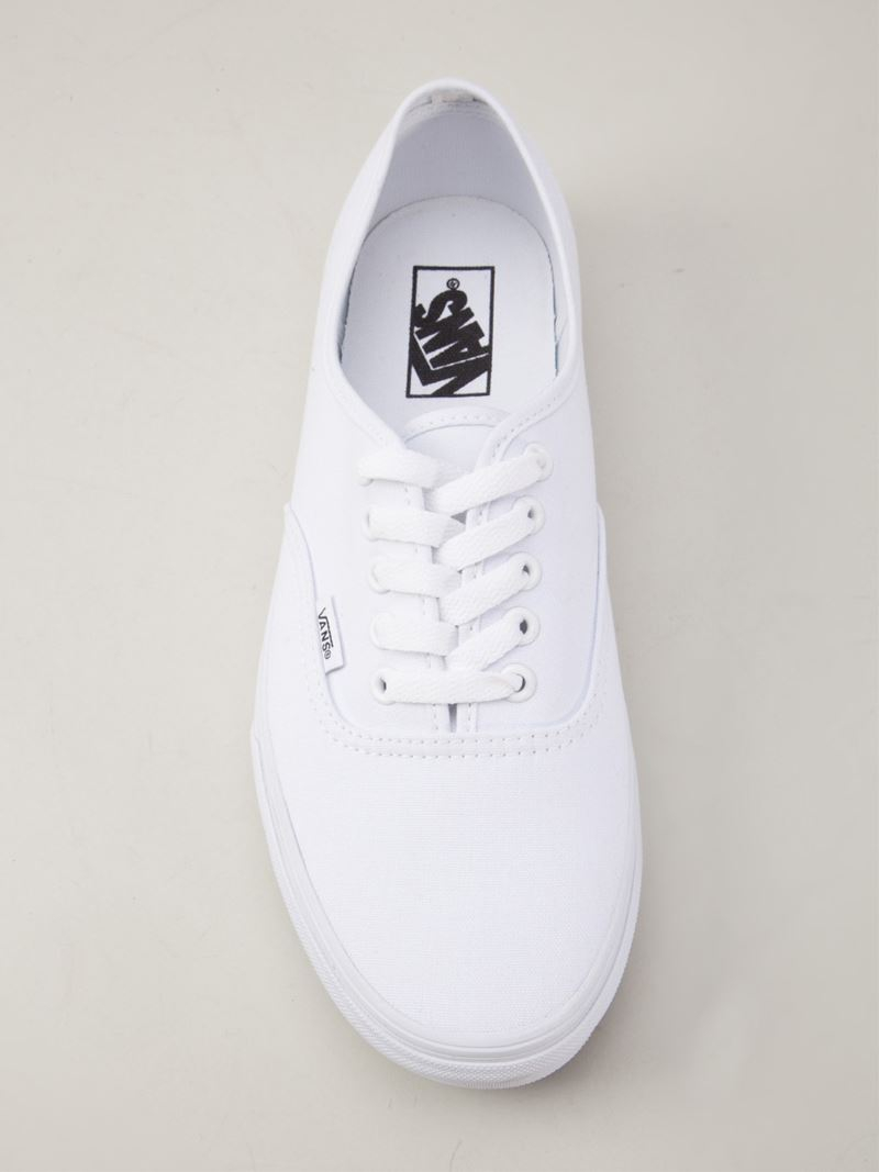 Lyst Vans Lace Up Shoes In White For Men