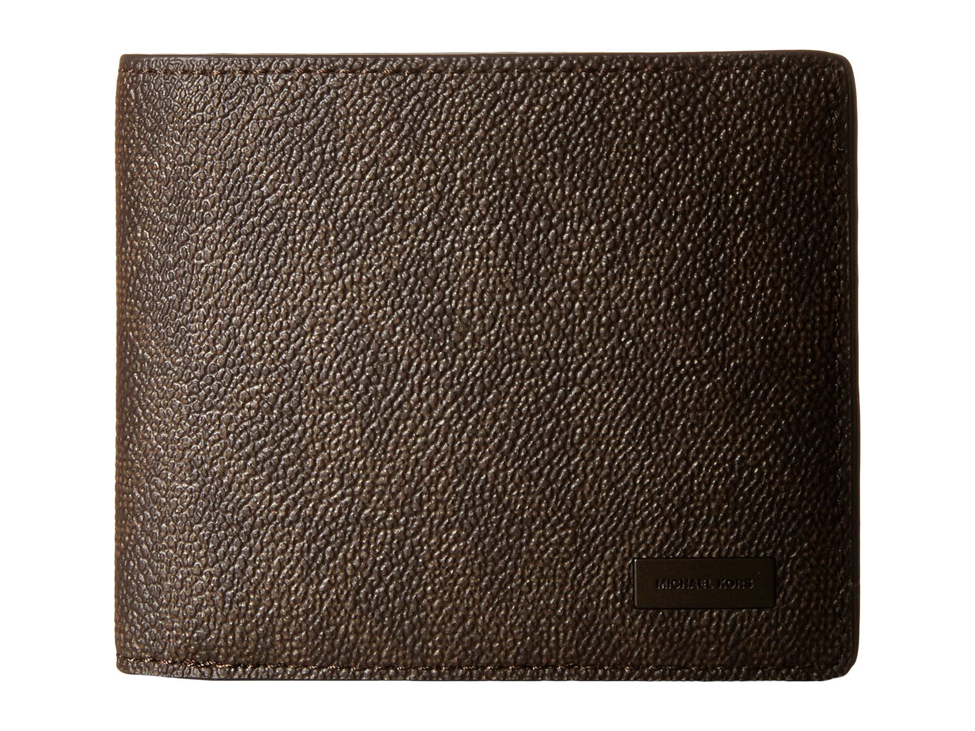 ad5deafc6ed9d Lyst - Michael Kors Jet Set Billfold W Passcase in Brown for Men