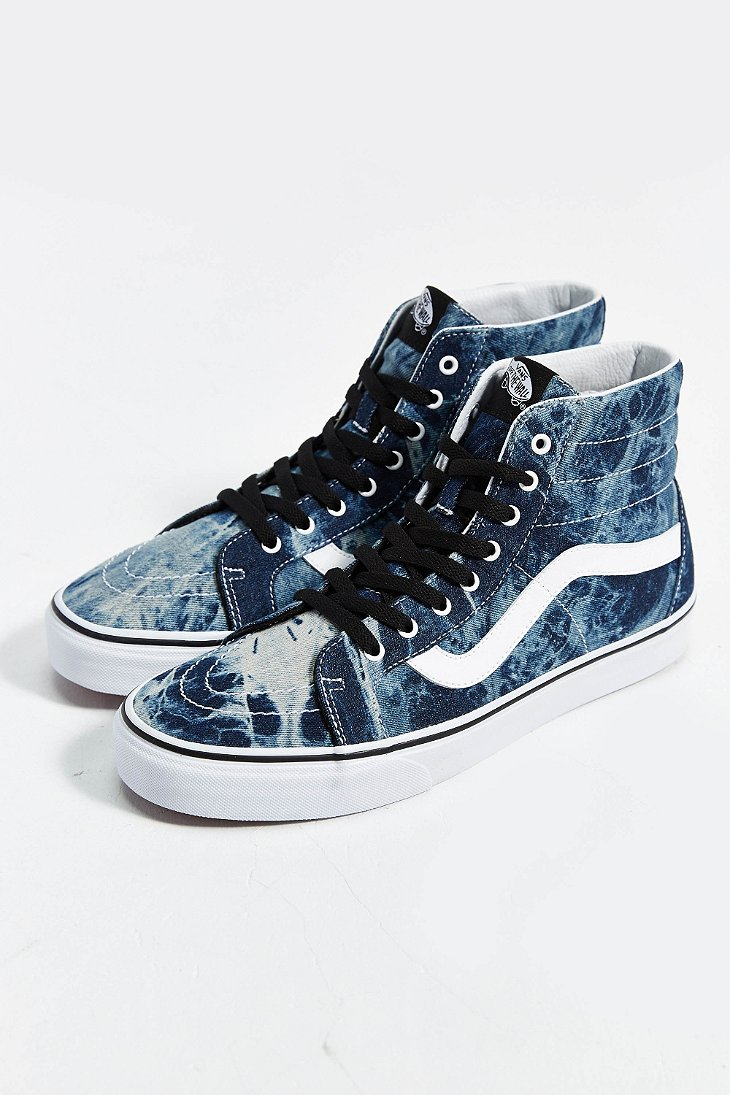Lyst Vans Sk8 Hi Reissue Acid Wash Sneaker In Blue For Men