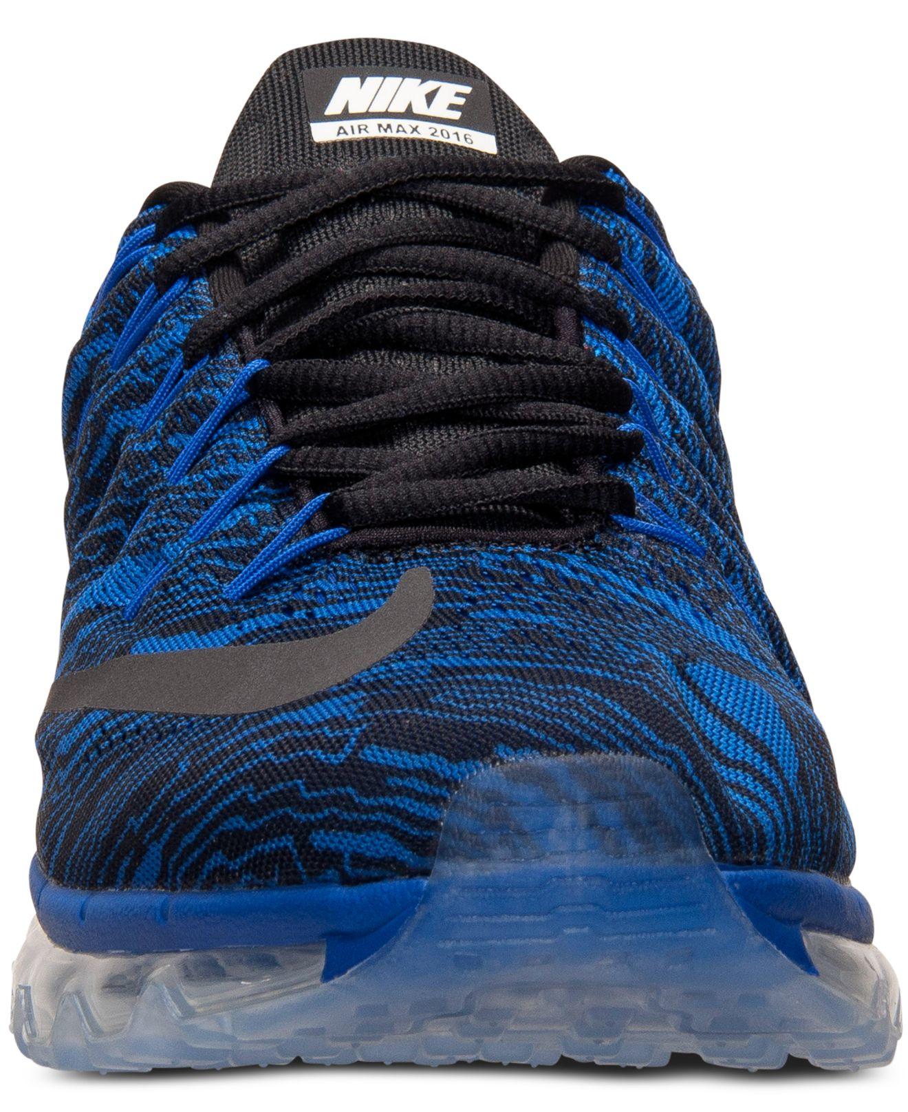air max 2016 blauw zwart