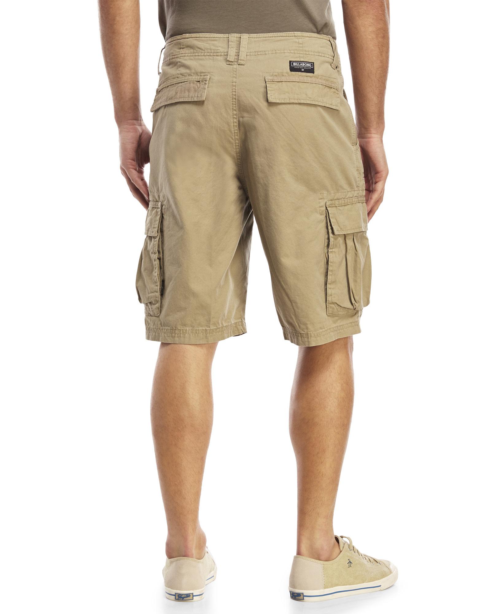 Woven Scheme Billabong Shorts Natural For Men Cargo gYbf7vmI6y