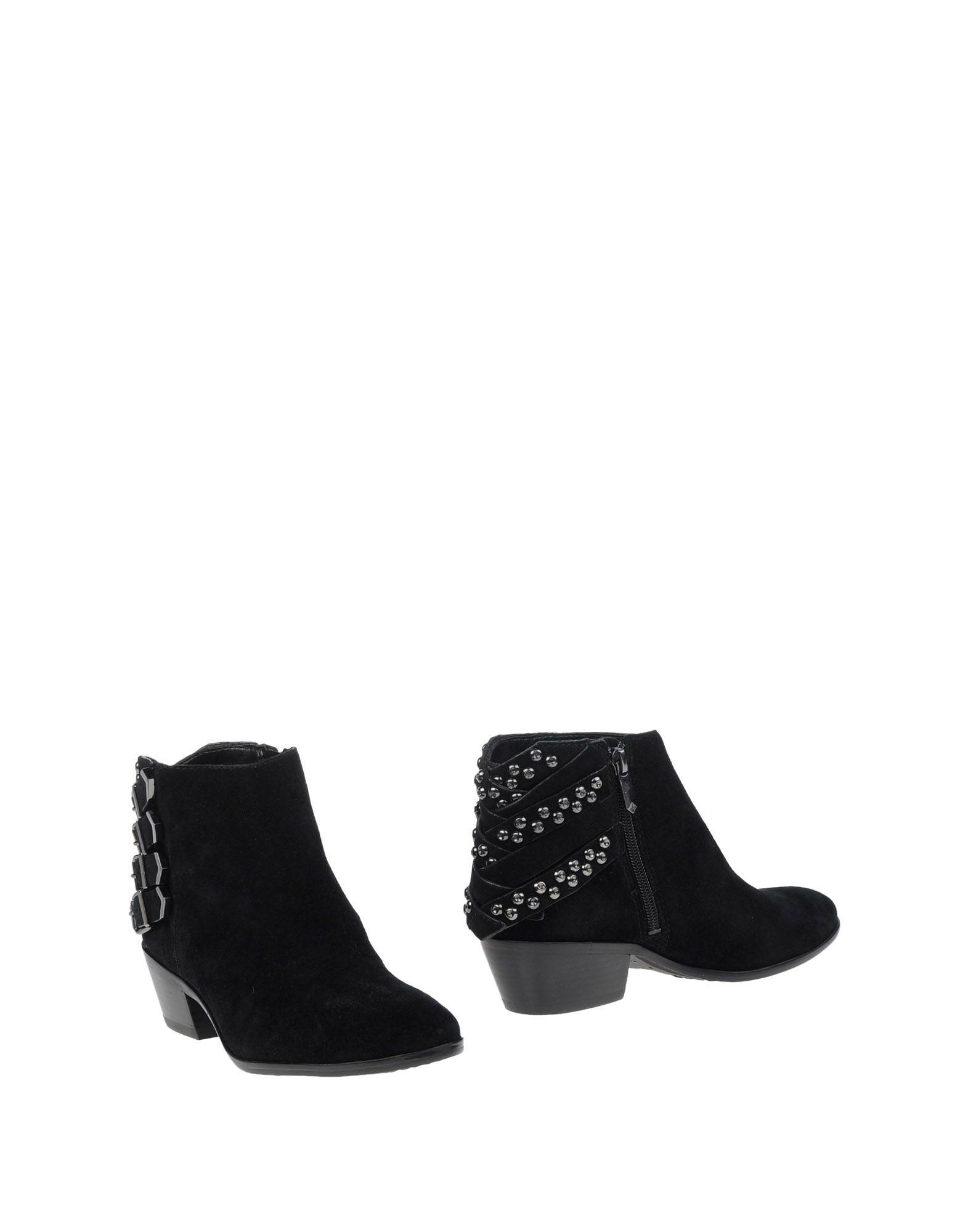 sam edelman embellished suede ankle boots in black lyst