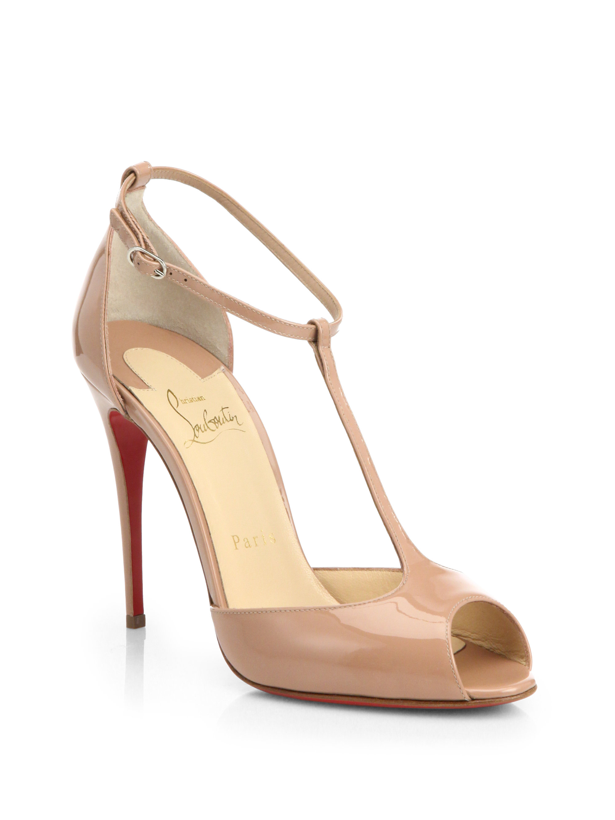 6d0395833fd Gallery. Previously sold at  Saks Fifth Avenue · Women s Christian  Louboutin Senora ...