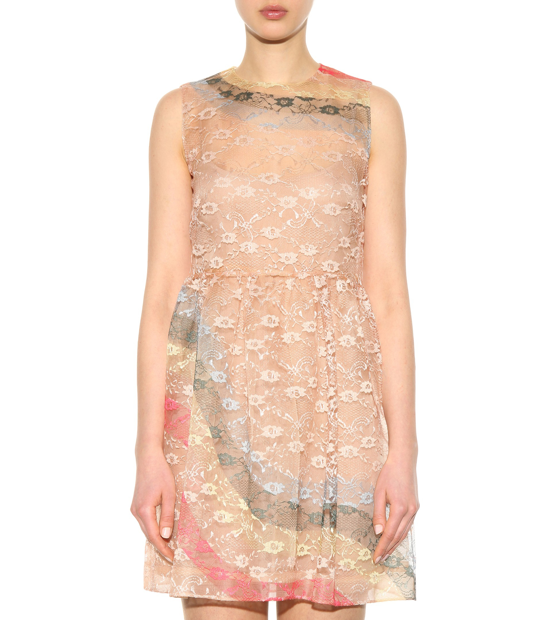 ceb6197a5a7 Red Valentino White Lace Dress