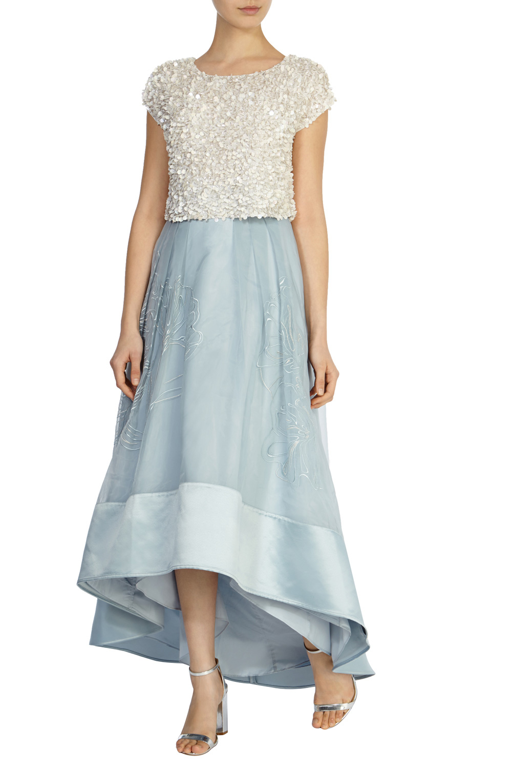 Lyst - Coast Sulla Skirt in Blue