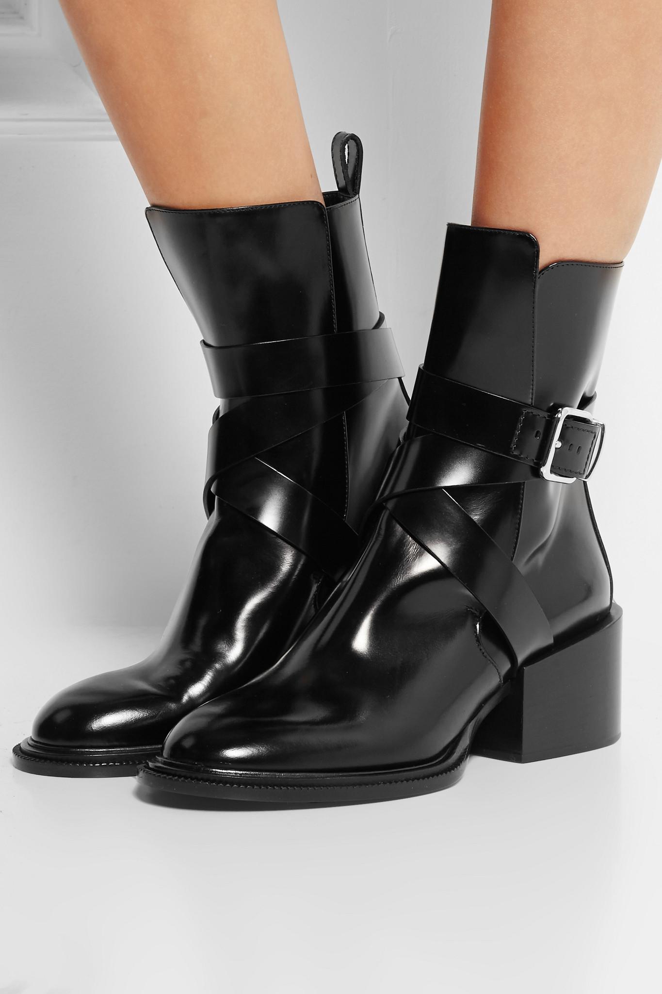 Jil Sander Leather Boots ISbXaem