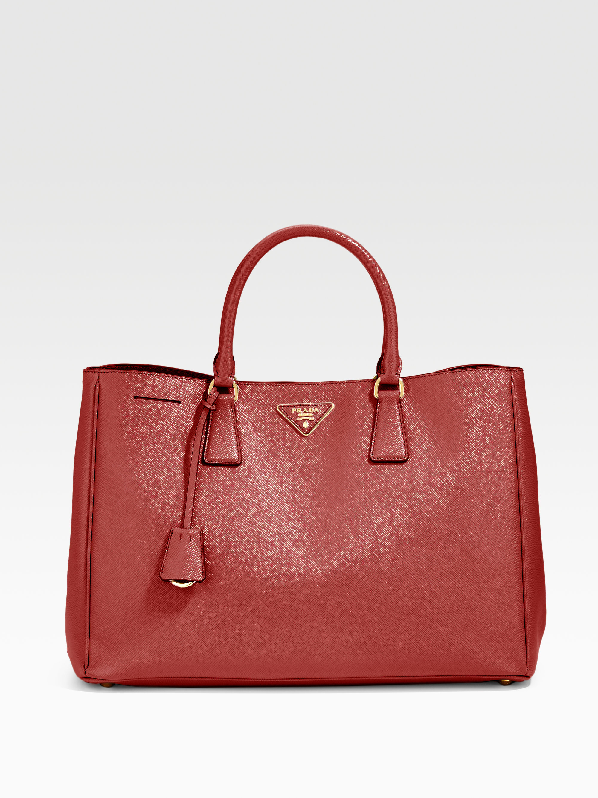 44b90cc5393856 ... discount code for lyst prada saffiano lux tote in red for men 1570b  5cdd3