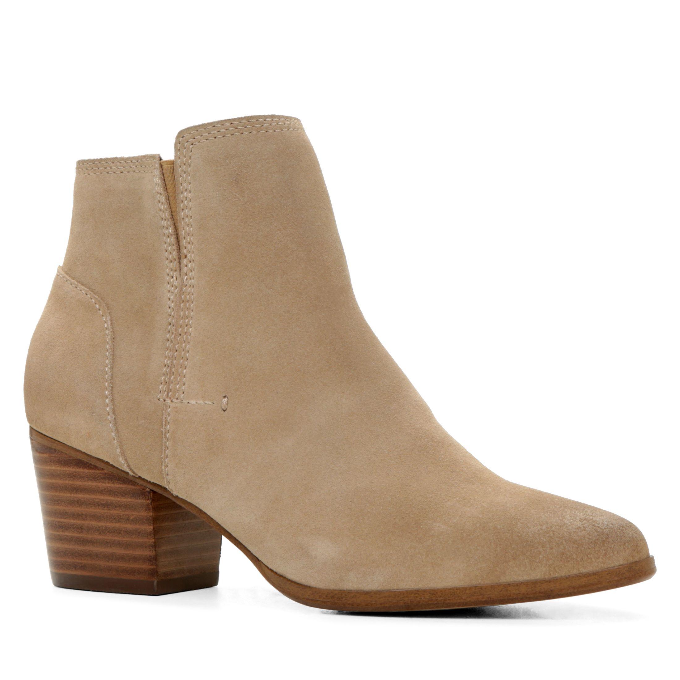 Aldo Lillianne Ankle Boots In Beige Bone Lyst