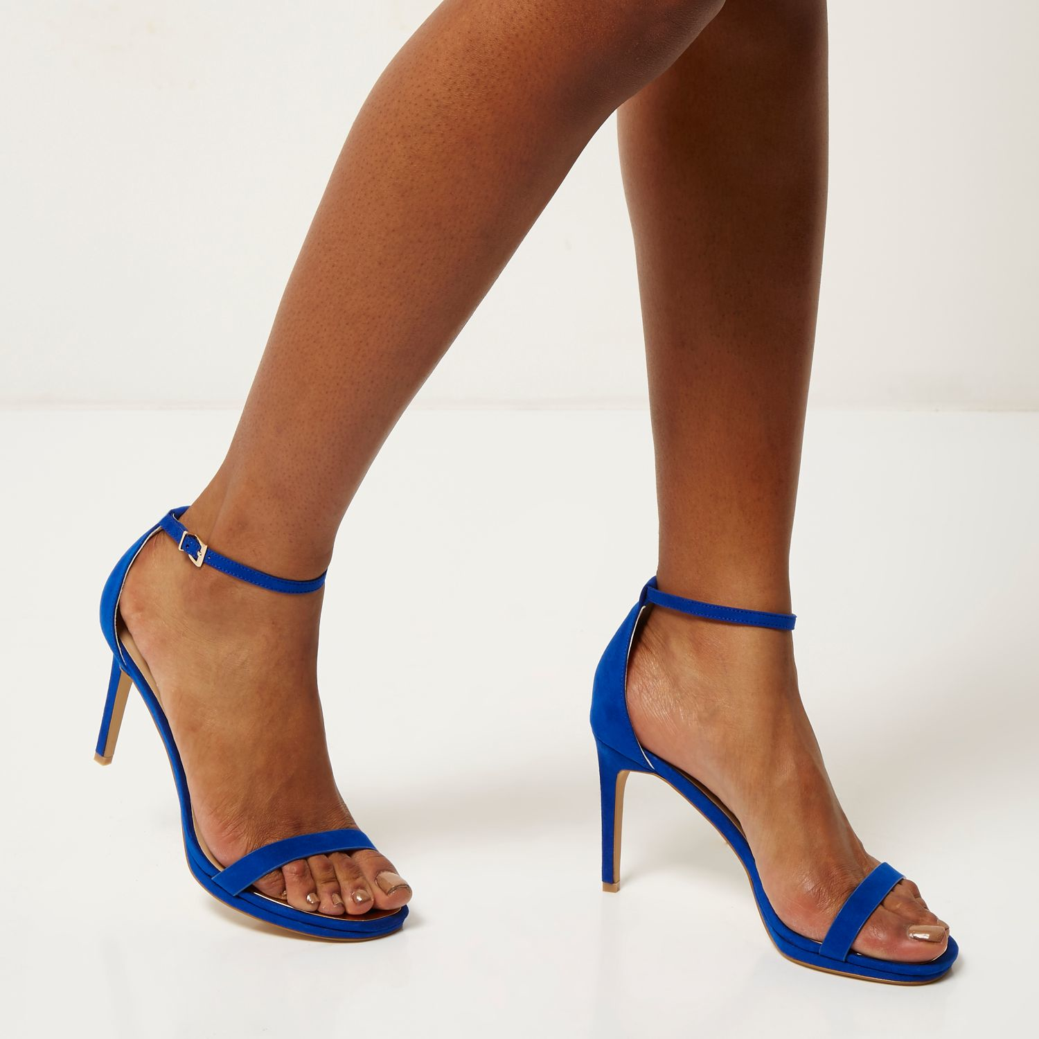 Blue There Heels Barely Women's Sandal vOmN0nwy8