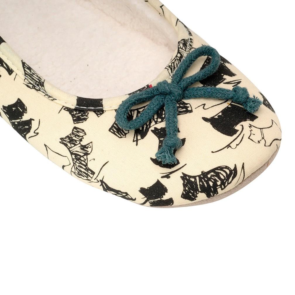 Radley Doodle Dog Ballerina Slippers in Green Lyst