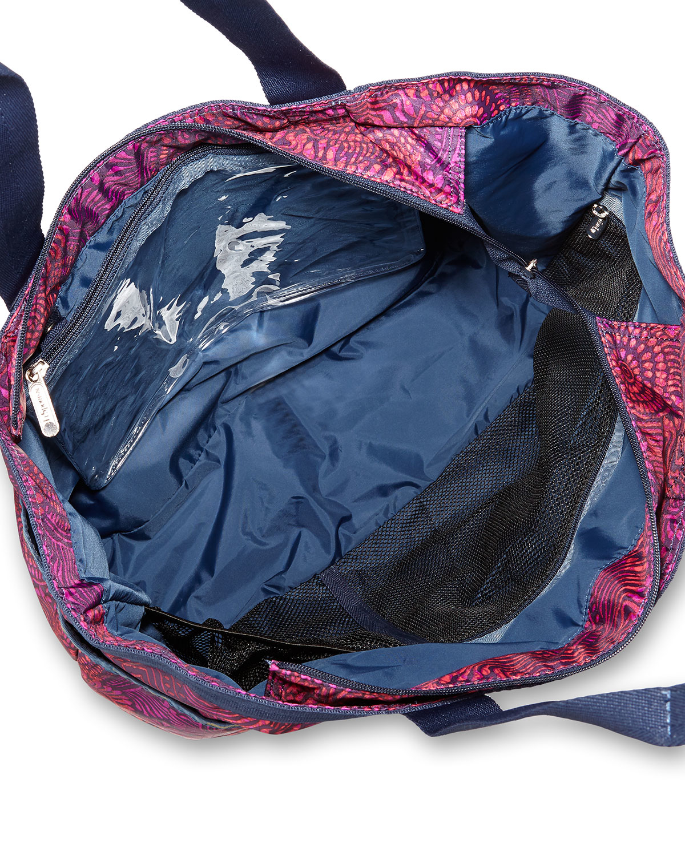 Lyst Lesportsac Printed Gym Tote Bag In Pink