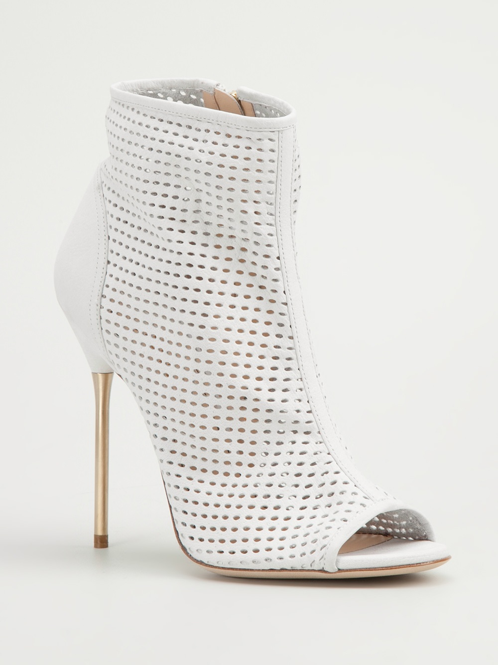 Jerome C. Rousseau Addict Boots in White