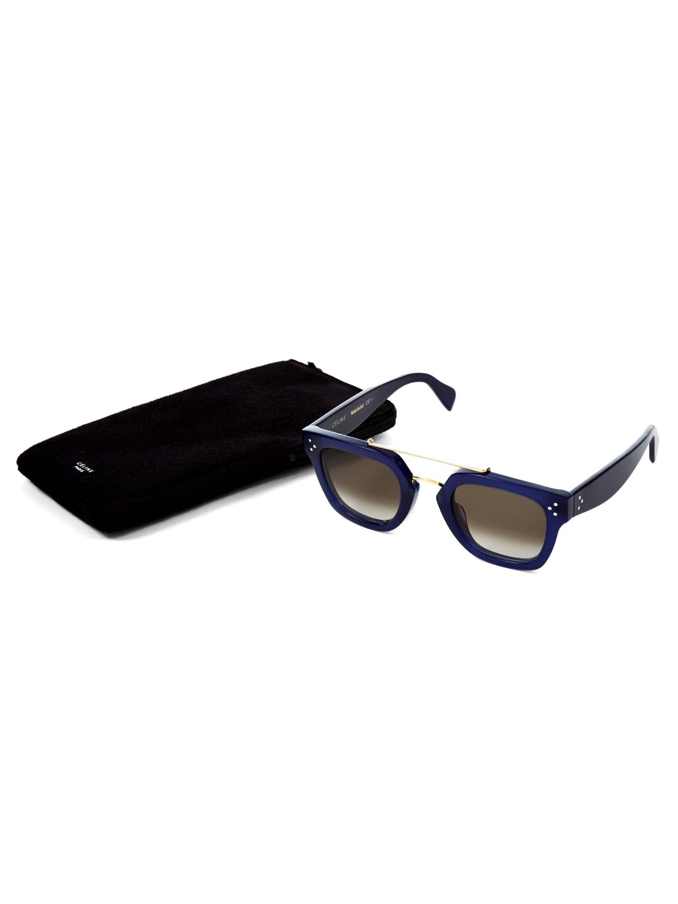 09ba4e8a10ec Celine Navy Blue Sunglasses