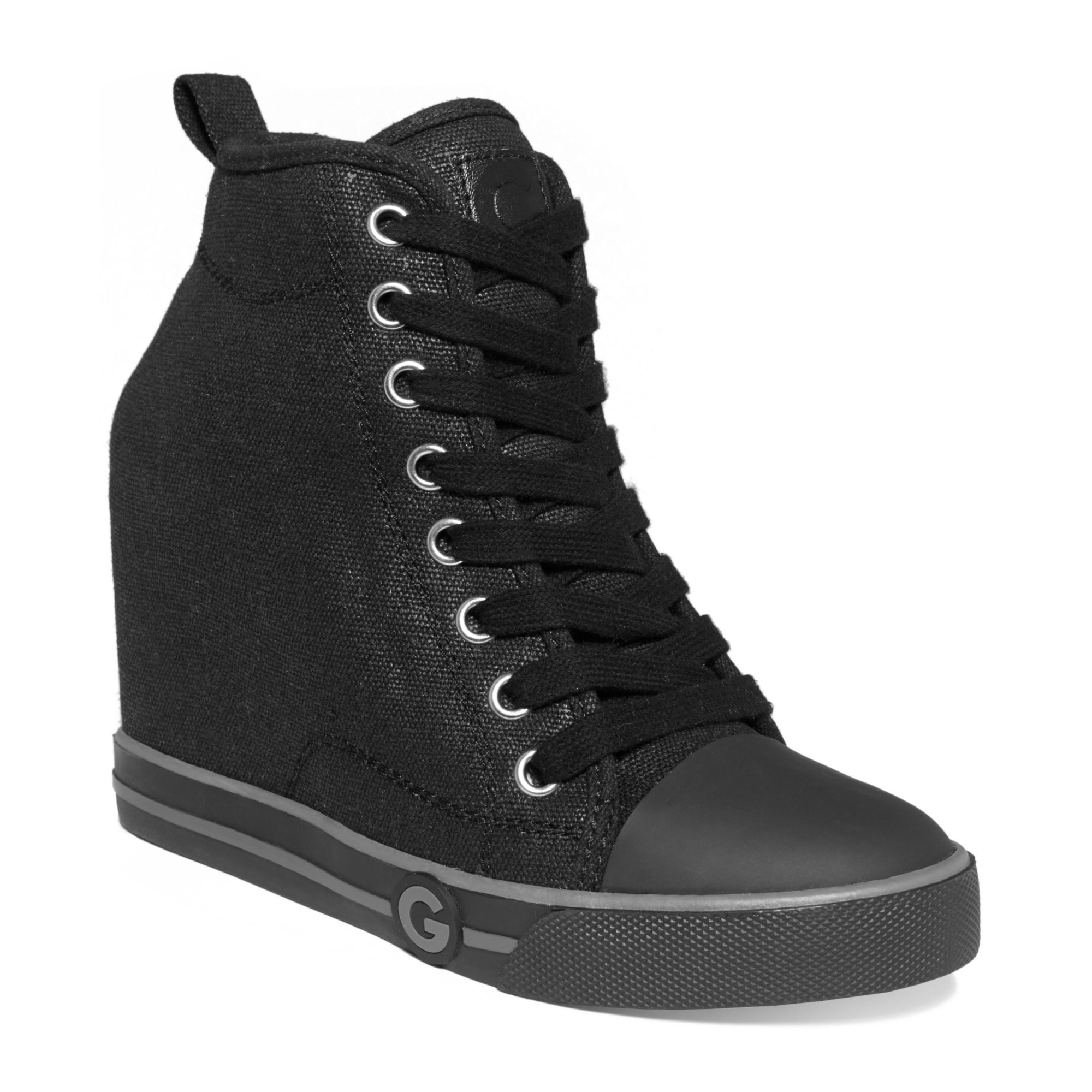 G By Guess Womens Majestey Wedge High Top Sneakers In -5888