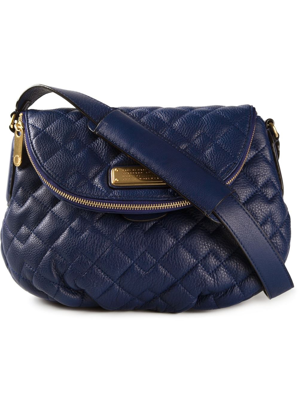 b394340d65 Marc By Marc Jacobs 'New Q Quilted Natasha' Crossbody Bag in Blue - Lyst