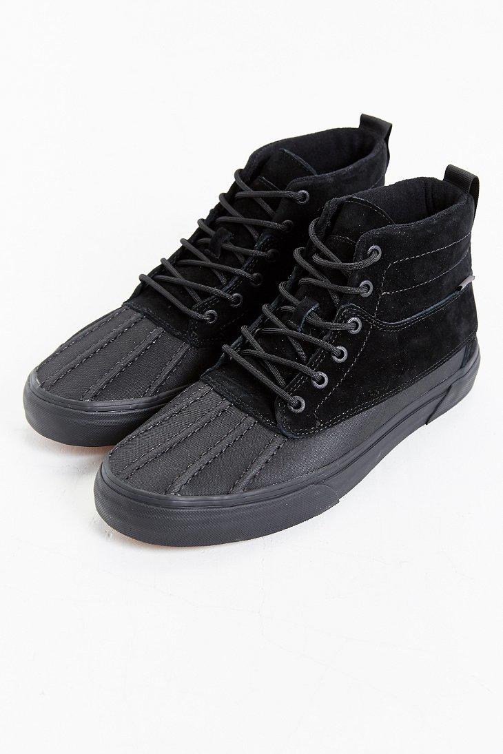 22dfedd19969f5 Lyst - Vans Sk8 Hi Del Pato Mte Boot in Black for Men