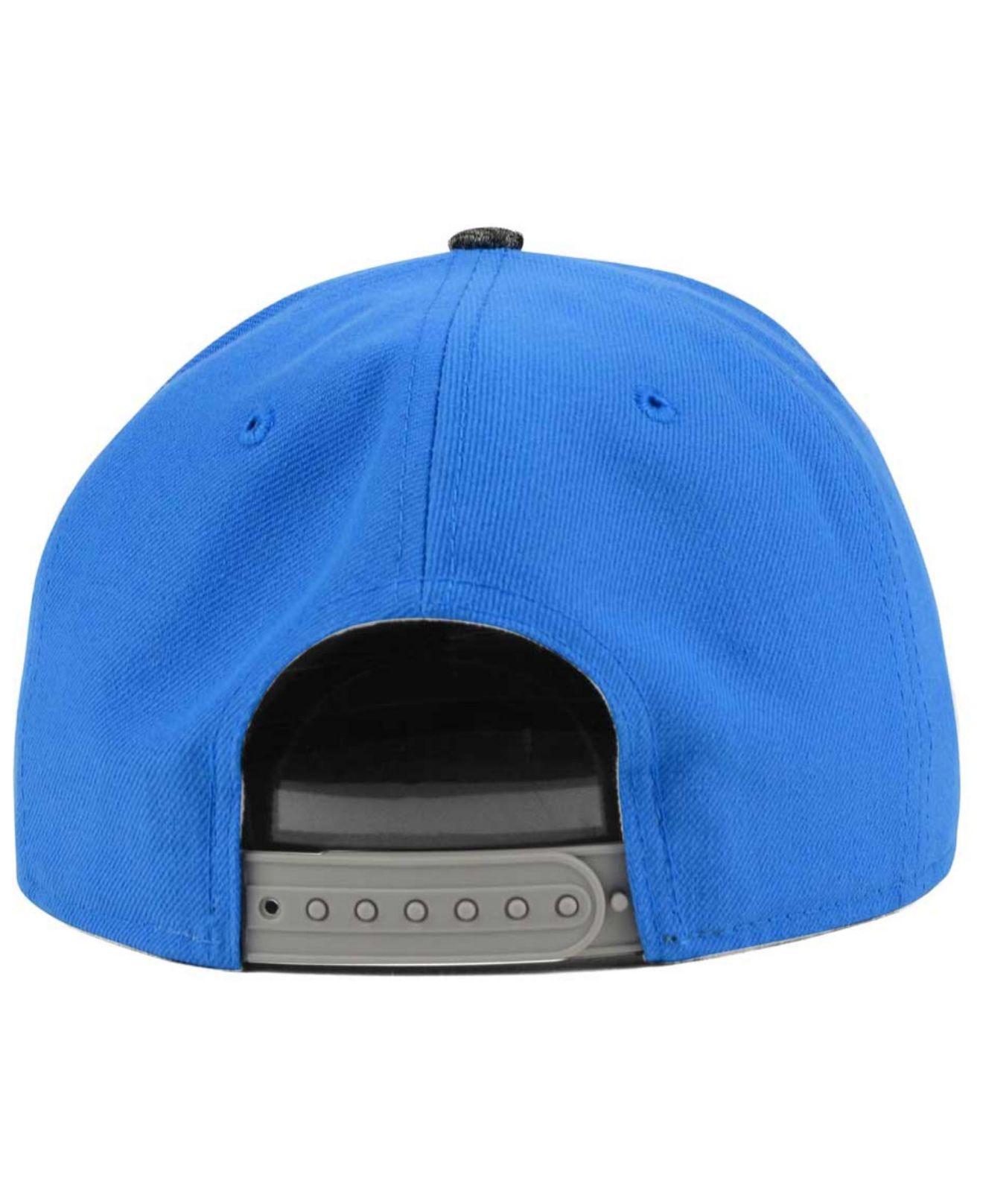 2f71cc463 KTZ Blue San Diego Chargers Gridiron Hook 9fifty Snapback Cap for men