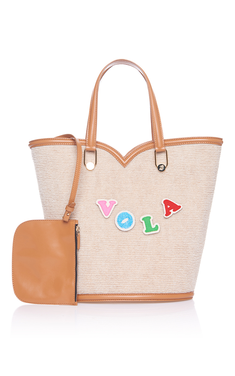 olympia le tan velcro beatrix bag in pink lyst