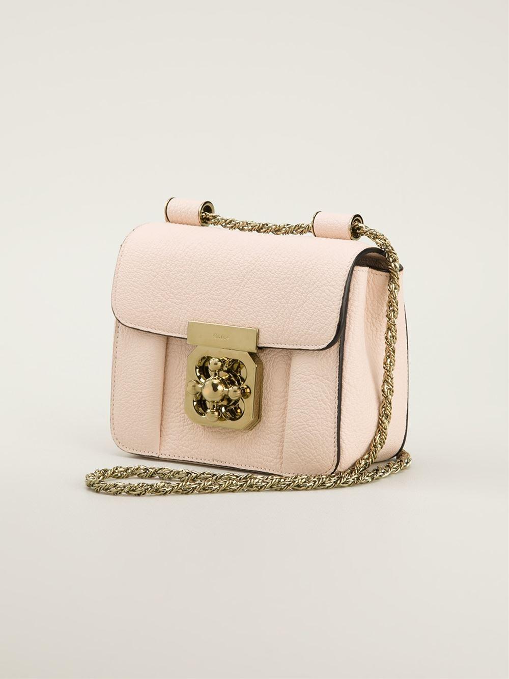 chloe elsie mini shoulder bag