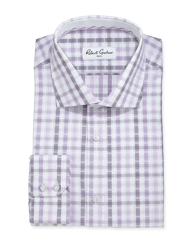 Lyst Robert Graham Ethan Plaid Poplin Dress Shirt In