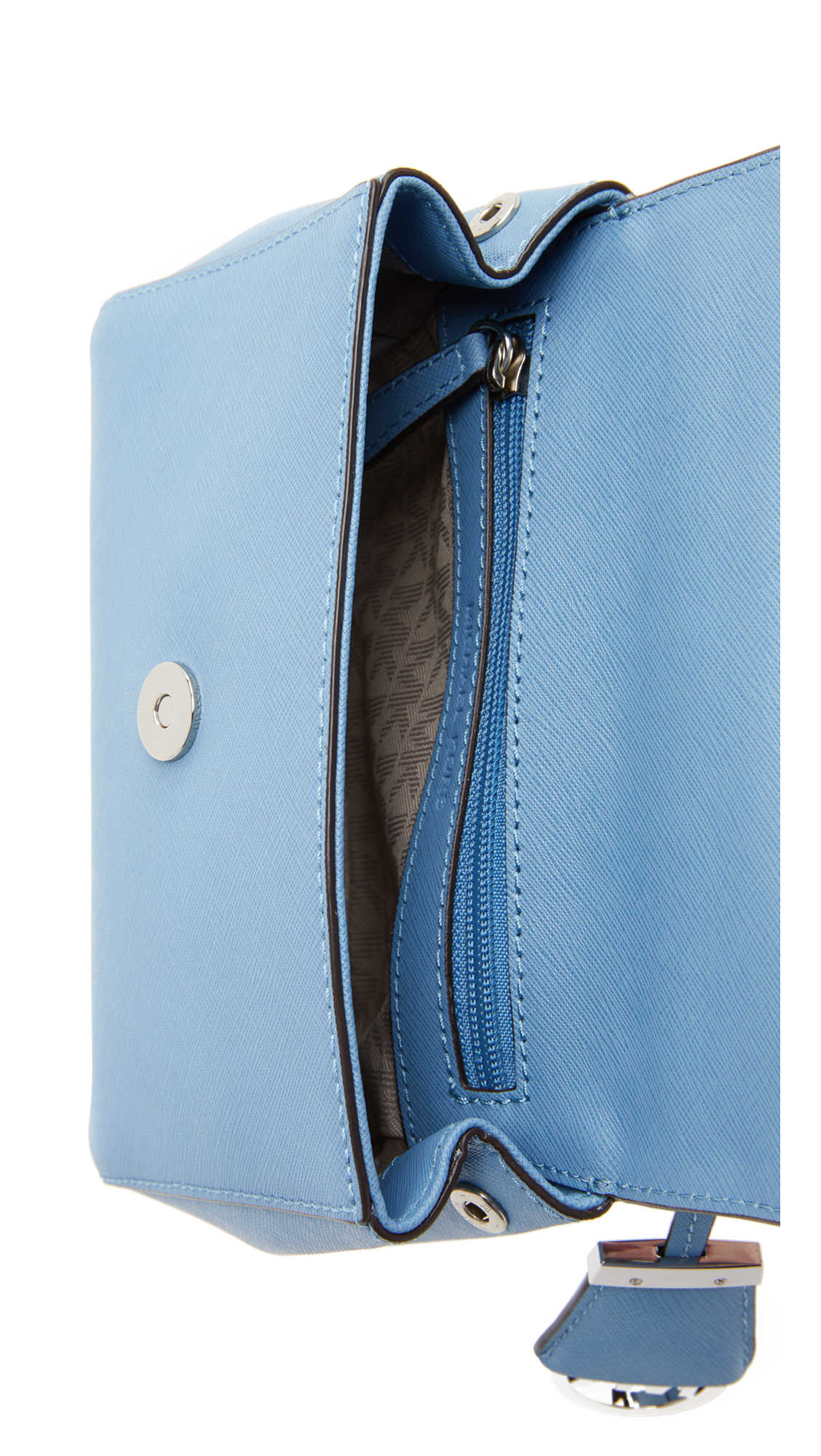 MICHAEL Michael Kors Ava Small Cross Body Bag - Sky in Blue