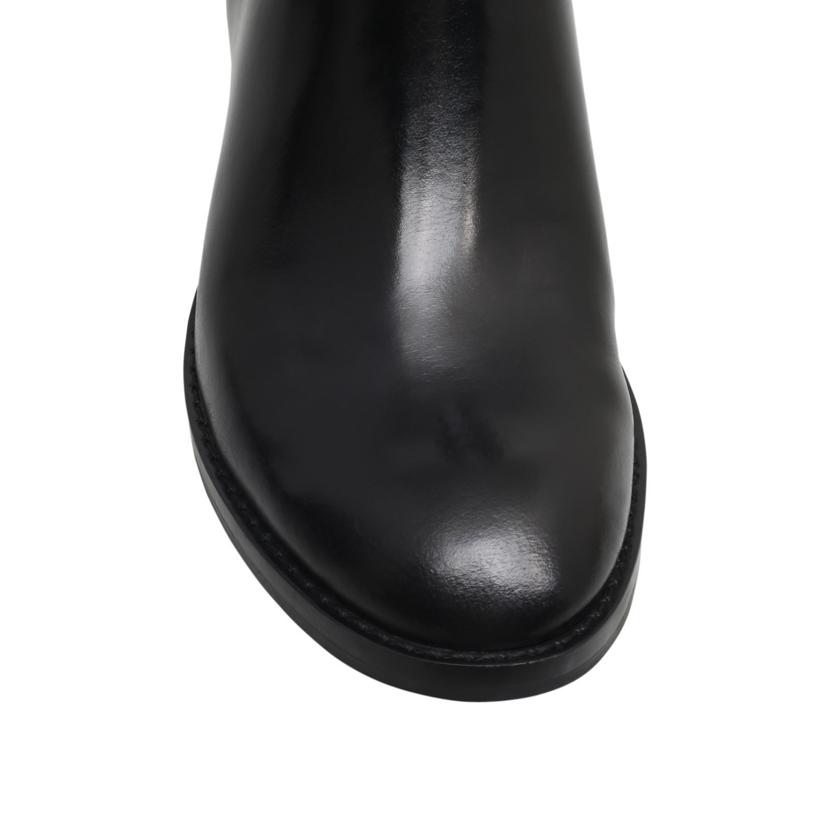 MICHAEL Michael Kors Leather Ryan Ankle Boot in Black