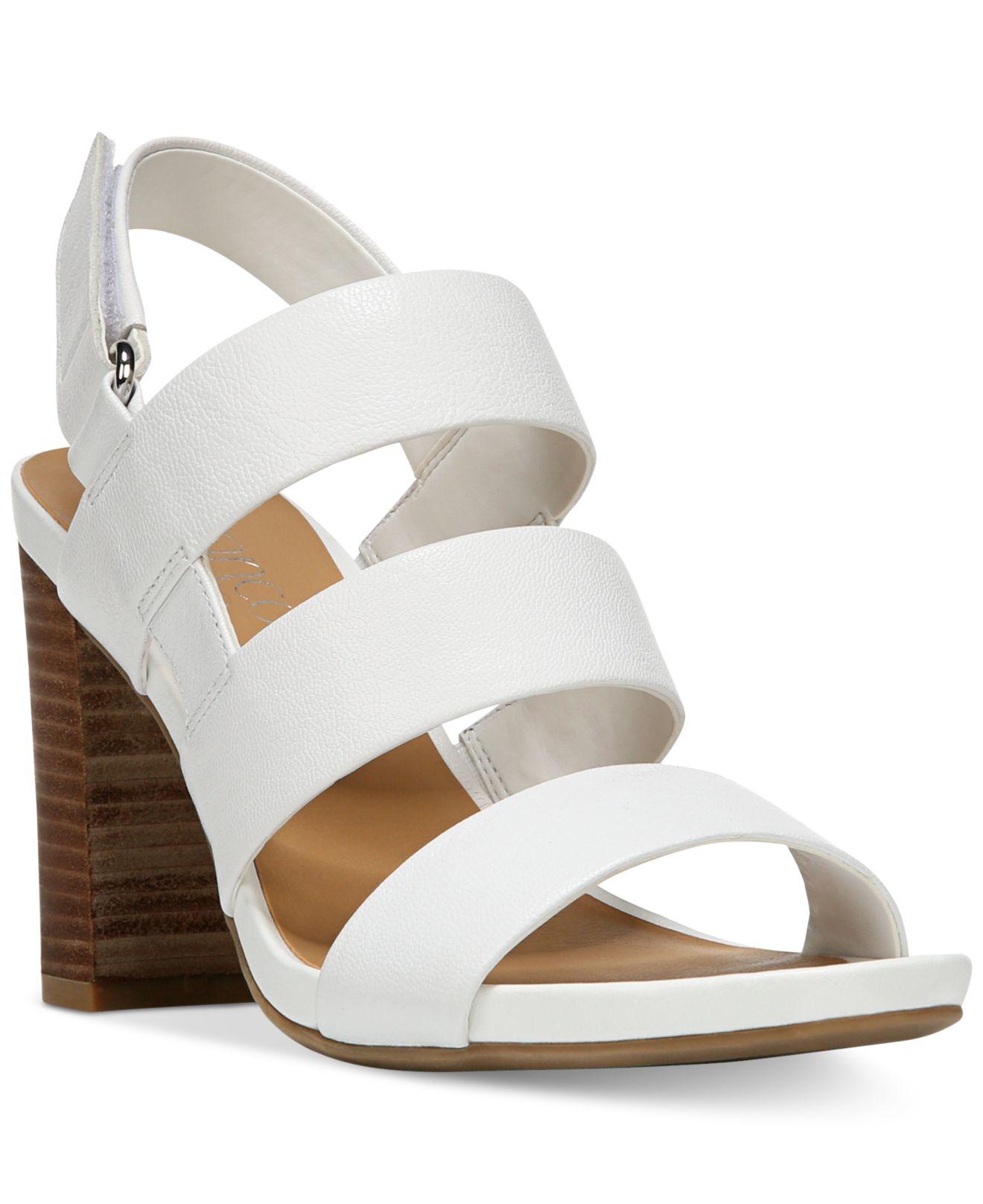 Franco Sarto Leather Jena Sandals in