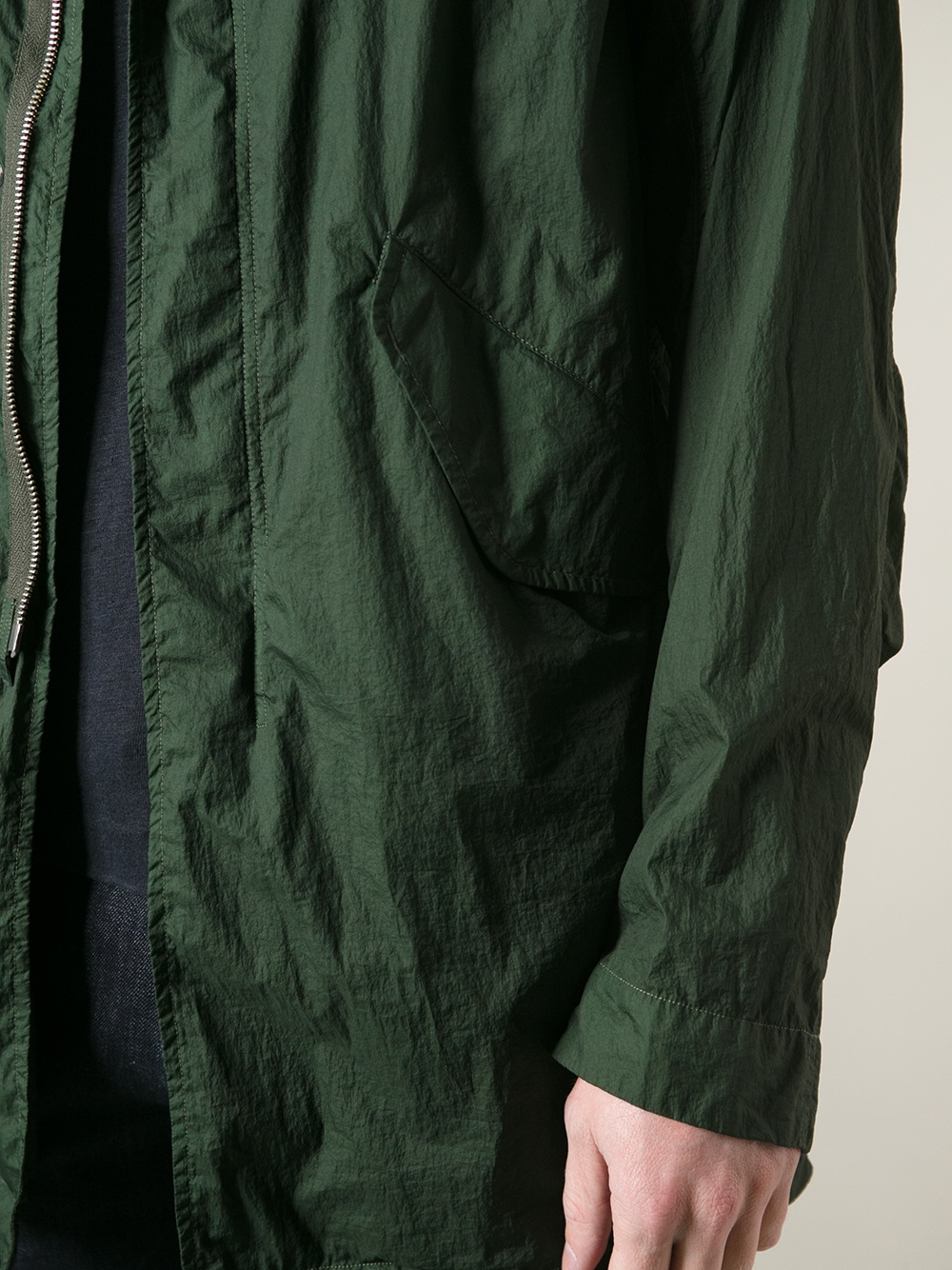 Lyst C P Company Fishtail Parka In Green For Men