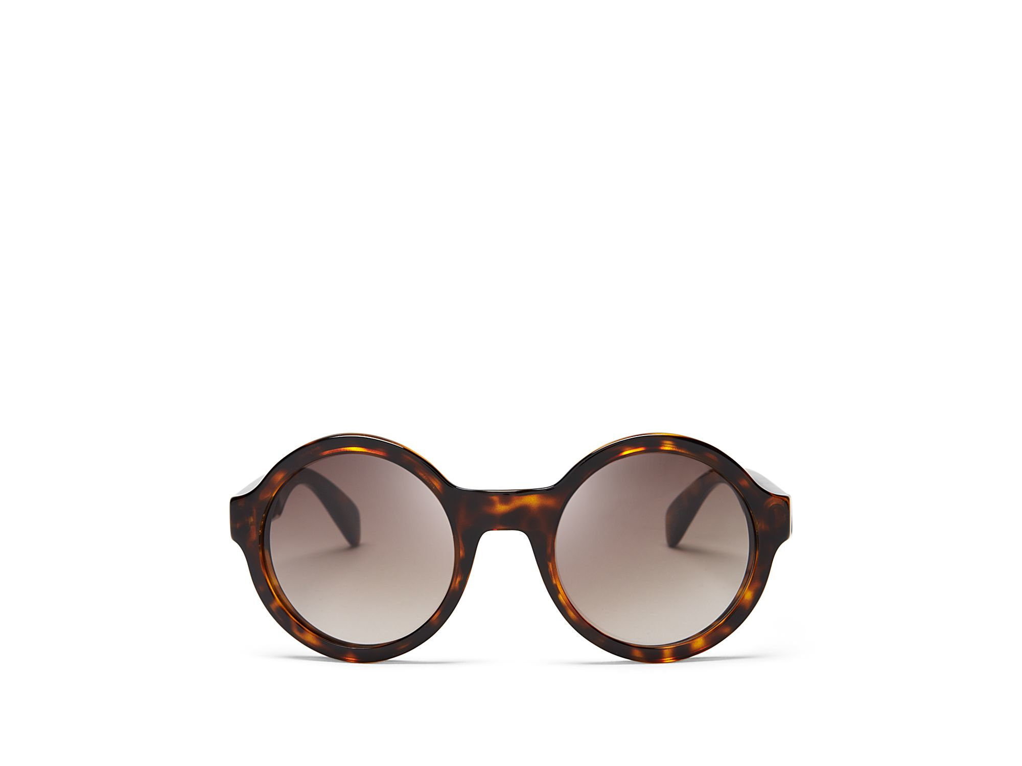 d9f5517f5aae Marc By Marc Jacobs True Round Sunglasses in Brown - Lyst