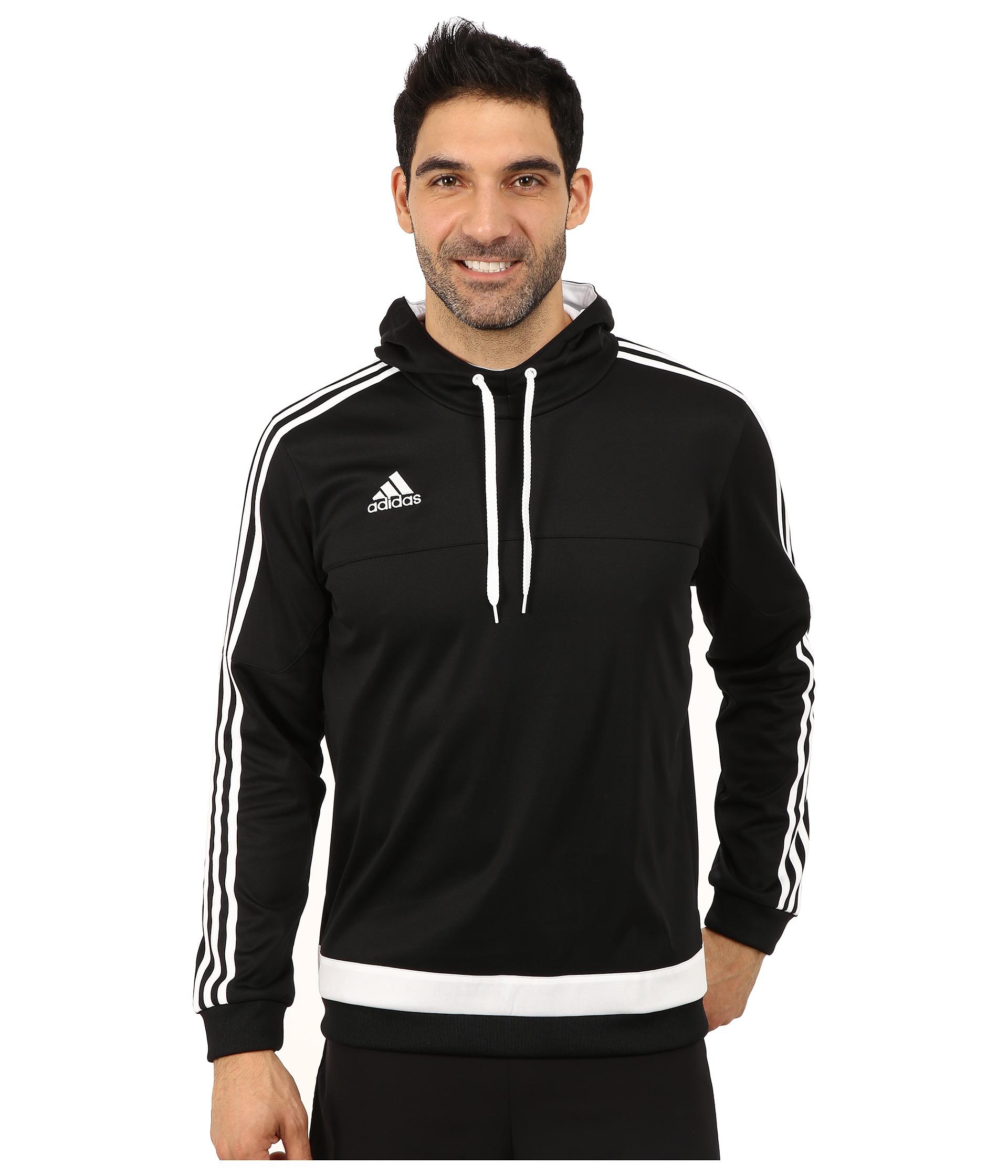 Lyst - adidas Tiro 15 Hoodie in Black for Men 00ee8a6558fb