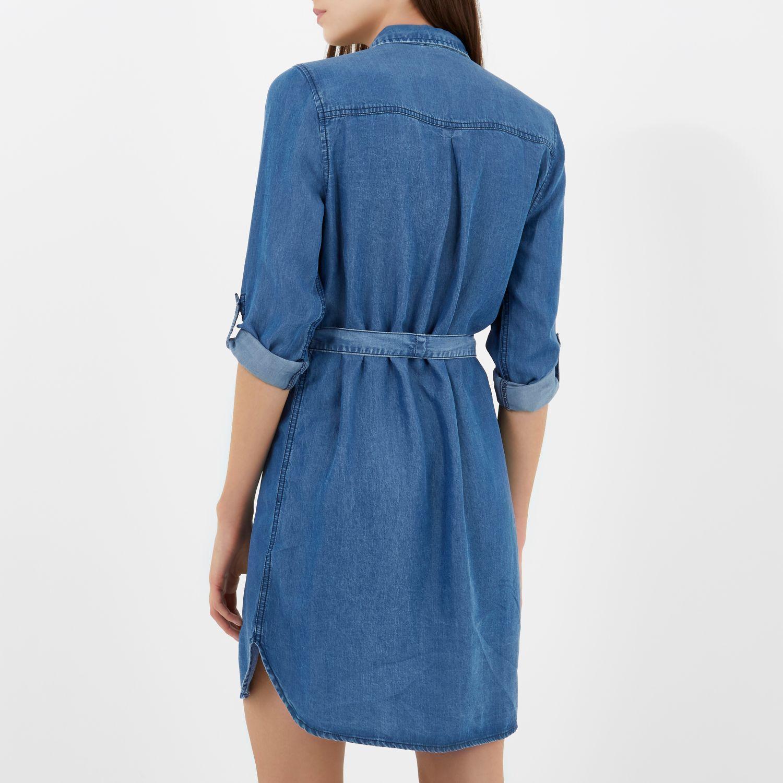 shirt dress knee length